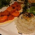 ブルーウォーター・シュリンプ - Garlic Shrimp Plate☆
