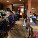 かっぱ - 隣 喫茶店のほう店内