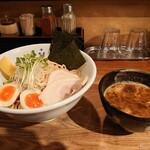 みつ星製麺所 - 料理写真:特製濃厚つけ麺 特盛300g 1070円