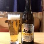 神田錦町 更科 - ビール <中瓶>
