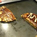 お好み焼キッチン ボテコ - ミックスたまご