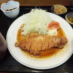 花門 - ハーブ豚厚切りロース生姜焼¥780