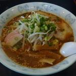 りゅうもん - 料理写真:辛味噌ラーメン 麺大盛 700円