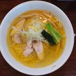 麺の風 祥気 - 2020年12月 しおそば 800円
