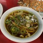 再来軒 - スープ