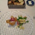 ビ アバンス - 料理写真:前菜、自家製パン