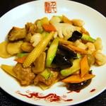 千龍 - 八宝菜(海鮮と野菜の炒め)
