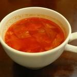 KINGS - この日のスープはミネストローネ
