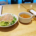 わんぱくキッチン - スープとサラダ
