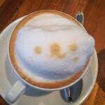 トーチ カフェ - カプチーノ もこもこ かわいい