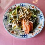 レストラン・シャレード - 料理写真:セットのサラダ