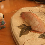 梅乃寿司 - 8/23 しまあじ。