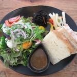 八十八夜 - 旬野菜のサラダプレート
