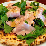 La cucina del Covo - モルタデッラソーセージとルッコラ
