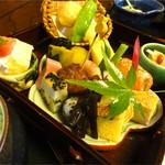 百の木 - 前菜<百華弁当1580円>