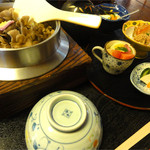 百の木 - 釜飯定食(舞茸)1780円