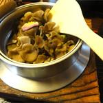 百の木 - 舞茸釜飯
