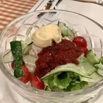 144940071 - 紅ズワイガニのサラダ