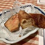 洋食勝井 - タラコトースト