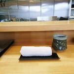 天ぷら 平松 - 迎え入れ