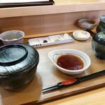 天ぷら 平松 - お食事