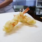 天ぷら 平松 - 車えび