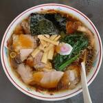 青島食堂 - 青島チャーシュー麺大盛拡大