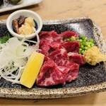 中洲 銀寿司 - 馬刺し