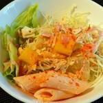 8spice - 中央の黄色の野菜はパプリカかと思いきやアクアンでした(*^^*ゞ