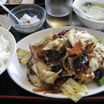 14495417 - 回鍋肉定食550円