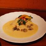 Restaurant Cuisine SANNO - 平目の白ワイン蒸し