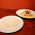 Restaurant Cuisine SANNO - ご飯にしました