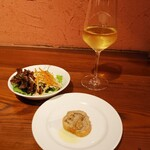 Restaurant Cuisine SANNO - サラダとアミューズ
