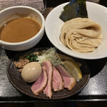 鴨出汁中華蕎麦 麺屋yoshiki - 特製鴨白湯つけ麺(1,300円)