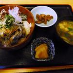 包丁処たち花 - ランチの〆いわし丼