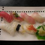 お食事処 多七 - にぎり寿し膳 寿司7カン