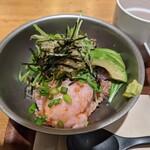 ディーアイワイ サラダ & デリカテッセン - 【2021/1】ネギトロアボカド丼