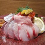 くずし割烹 ぼんた - 「極、割烹海鮮丼」