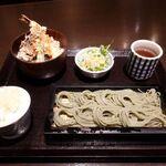 144973065 - へぎそば&ミニ丼ぶりセット 1480円