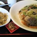 鴻福門 - フライ麺セット