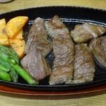 立呑み きむらや - 佐賀牛ステーキ
