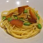 PIZZERIA 37 - カラスミとあさり、枝豆のスパゲッティ