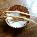 Sanshounoki - 塩味の加減も良く美味しい。最初は遠慮気味に、この後同じ程度の量を2回頂きました^^
