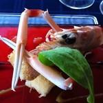 ラペール - 料理写真:赤座海老のカダイフ焼き