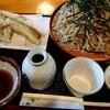 こばやし - 料理写真:『穴子天ぷらざるそば(大盛)』(税込み1400円)