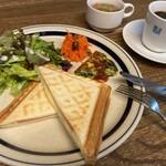 ・ホットサンド~ハム&チーズ~ Toasted sandwich