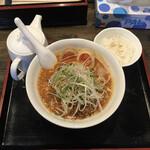 麺辰 - 坦々麺とご飯