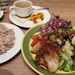 GRANDMIRAGE WHOLE NOTE CAFE - 今日の日替りランチ&コーヒー&プリン 合計1180円