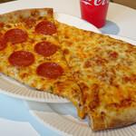 ピザスライス カミサリー - チーズスライス&ペパロニスライス