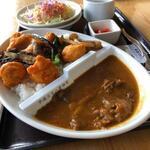 かざ車 - 料理写真:相俣ダムカレー
